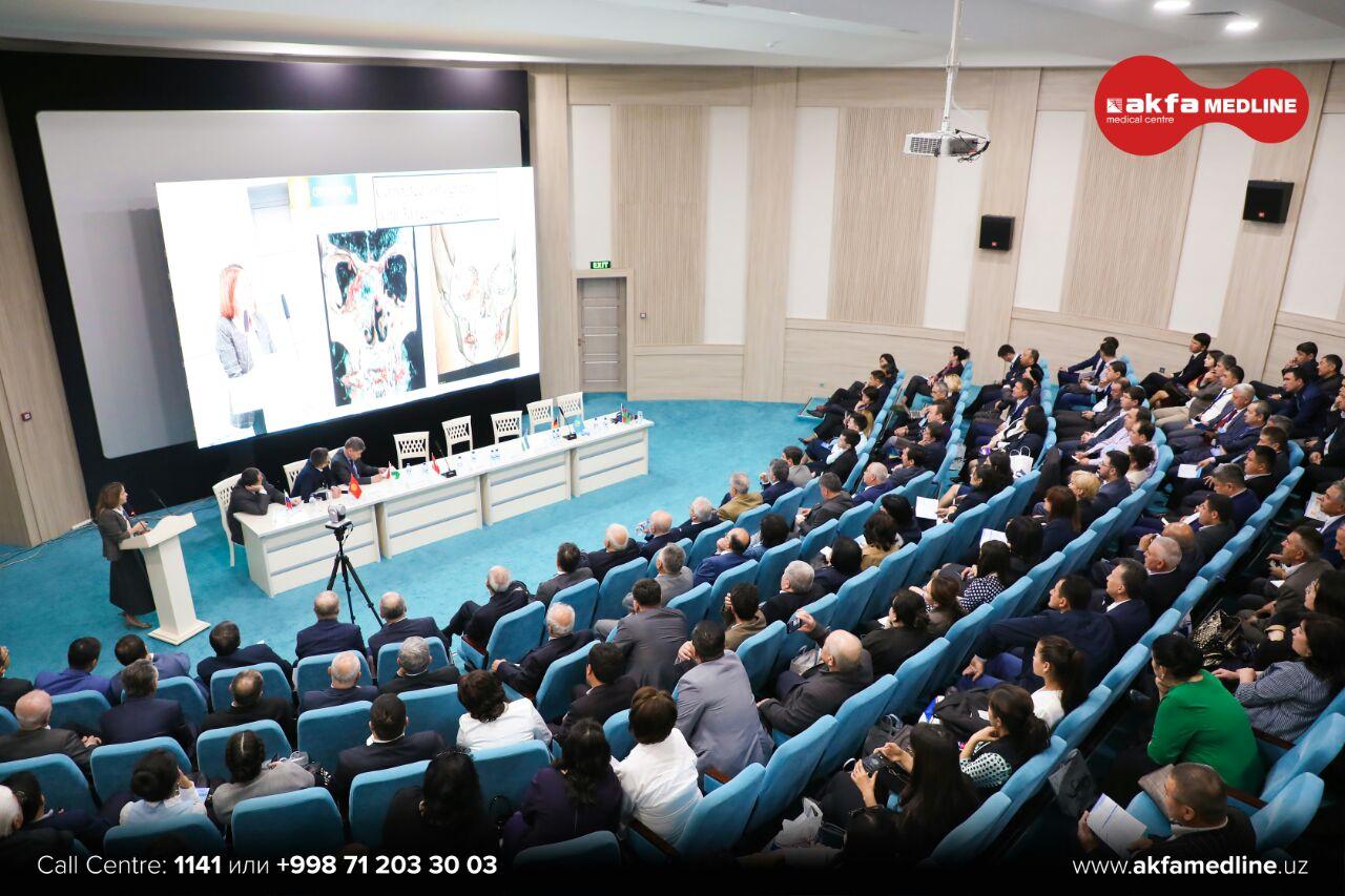 Международный форум оториноларингологов проходит 12 и 13 апреля в клинике AKFA Medline